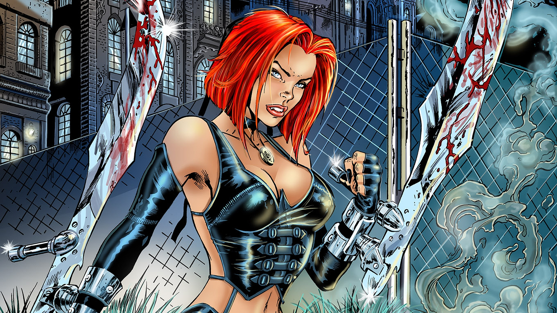 bloodrayne wallpaper 1920x1080-#6