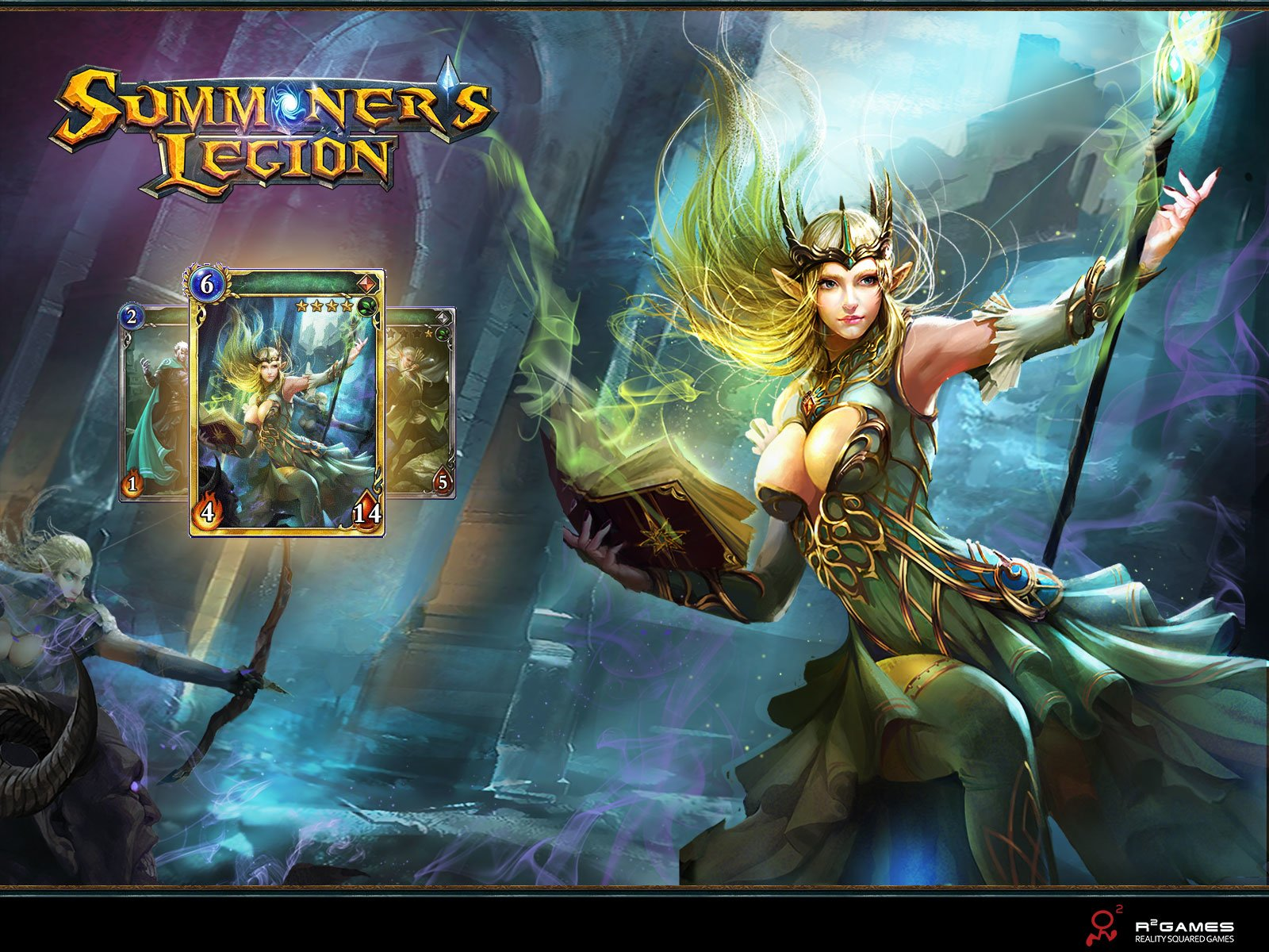 10 Summoner S Legion Hd Wallpapers Background Images Wallpaper Abyss