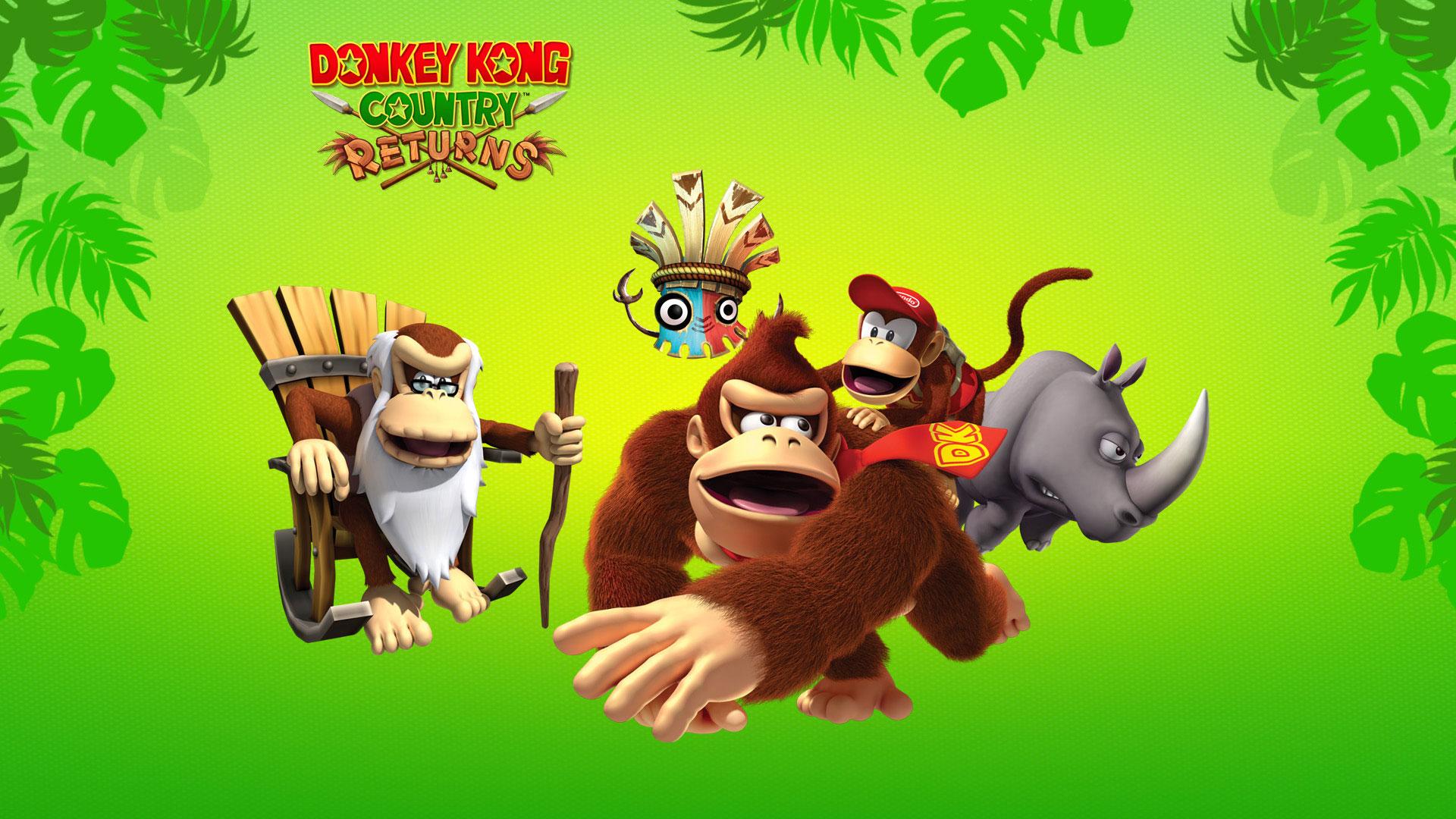 Donkey Kong Country Returns Fondo De Pantalla Hd Fondo De