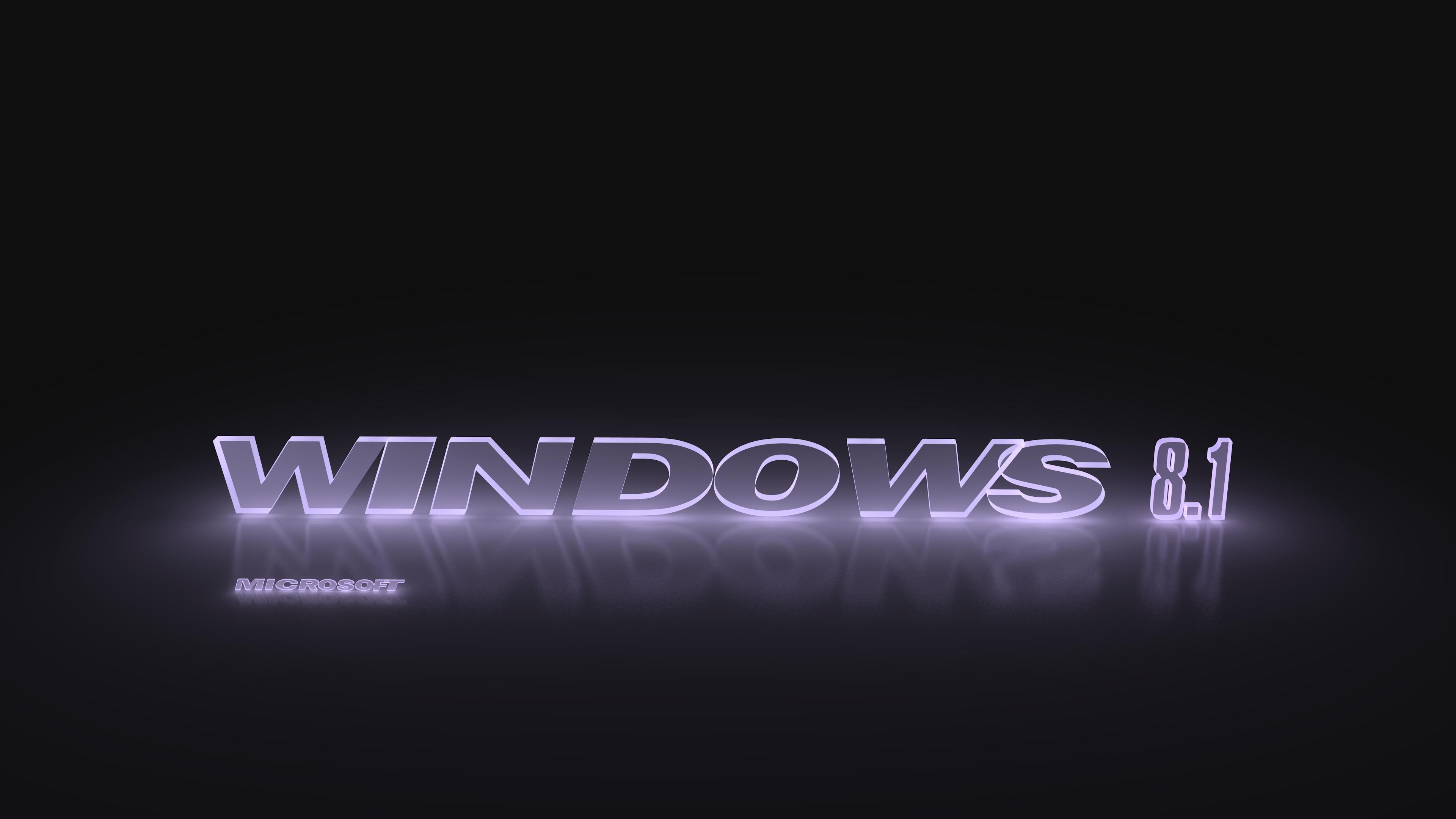 windows 8 1 glowing light violet 4k ultra hd fondo de