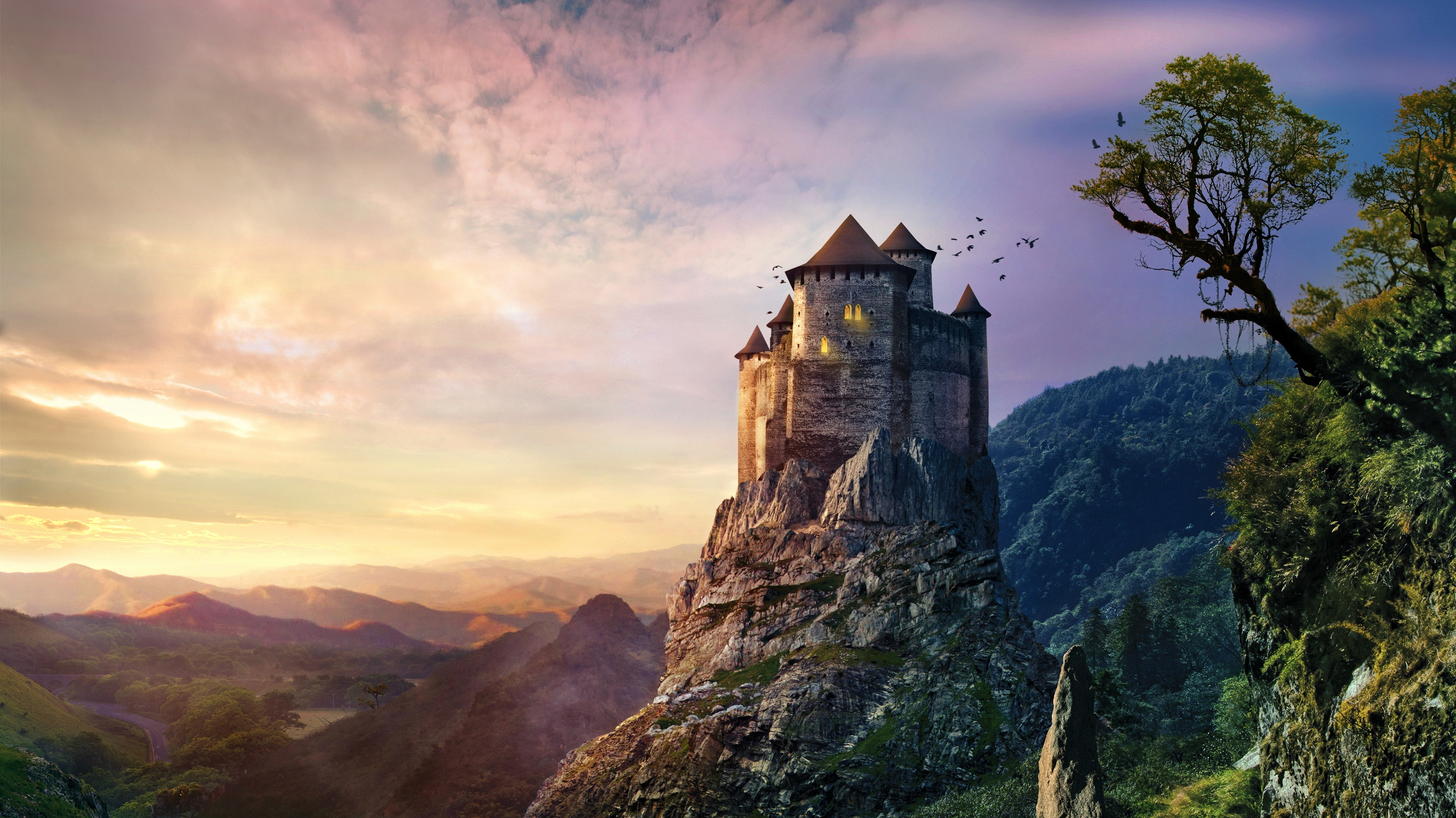 Castle K Ultra Hd Wallpaper And Background X