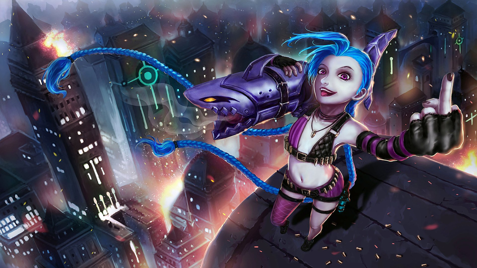 178 Jinx League Of Legends Hd Wallpapers Background Images