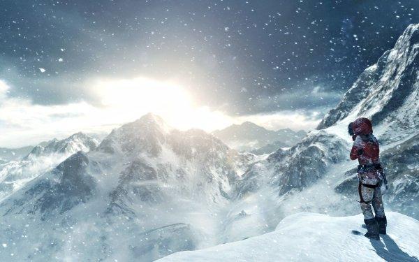 Video Game Rise of the Tomb Raider Tomb Raider Lara Croft HD Wallpaper   Background Image