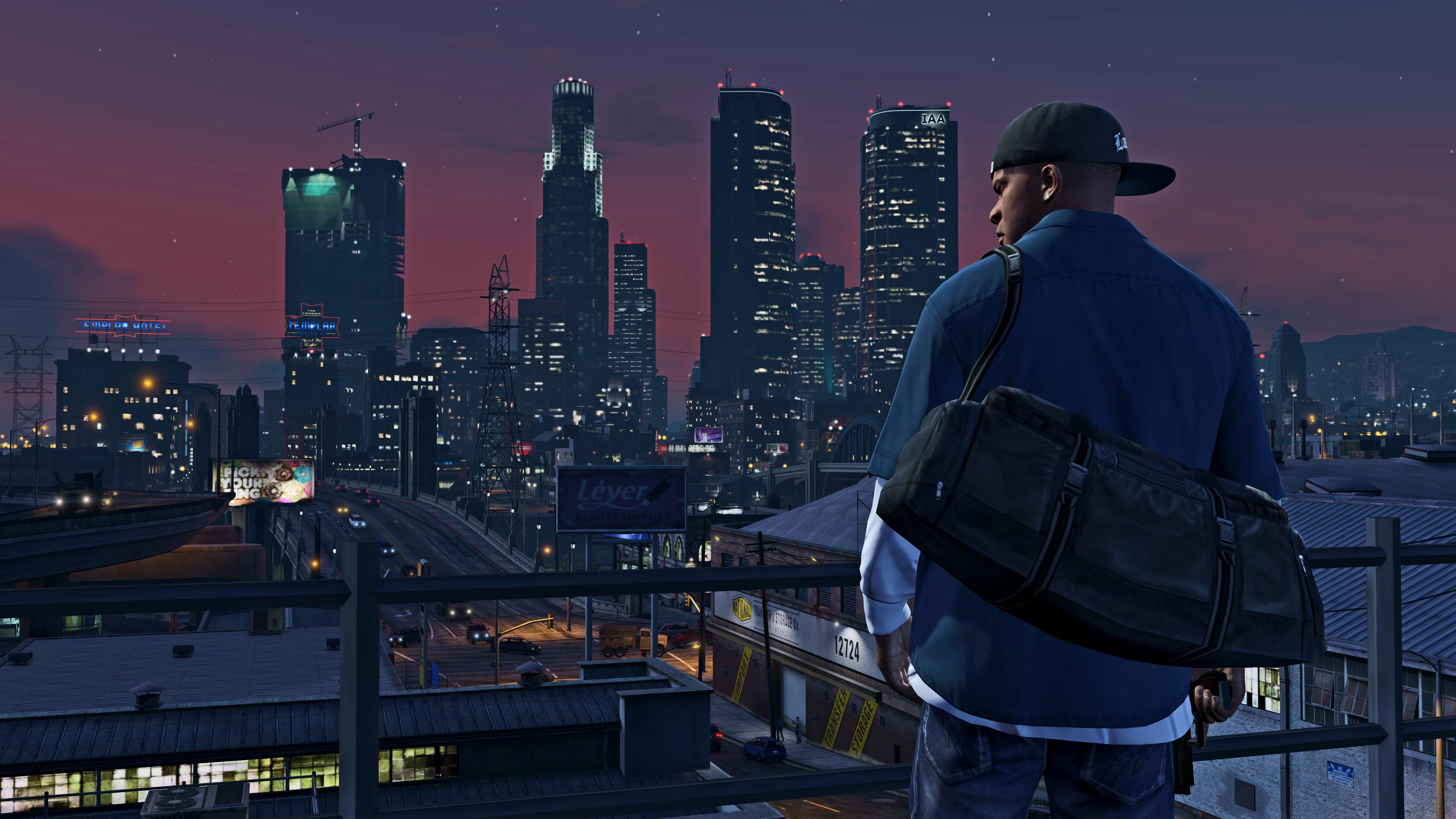 Grand Theft Auto V 4k Ultra Fondo De Pantalla Hd Fondo De