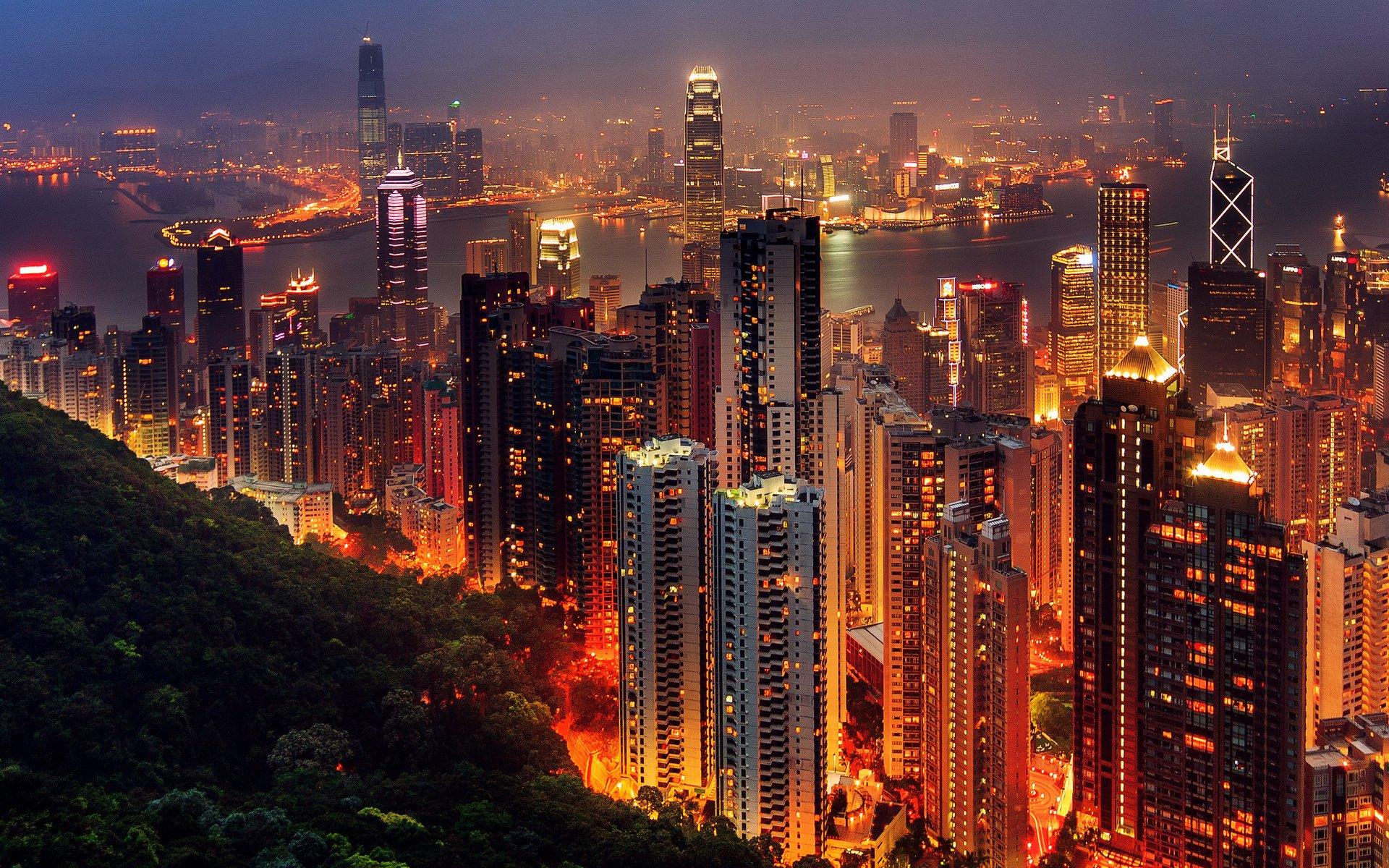 Hong Kong Hd Wallpaper Background Image 1920x1200 Id 573713