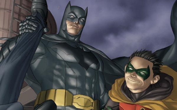 Comics Batman & Robin Batman Robin DC Comics Damian Wayne HD Wallpaper   Background Image
