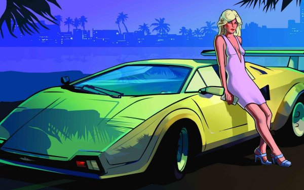 Video Game Grand Theft Auto: Vice City Grand Theft Auto HD Wallpaper   Background Image