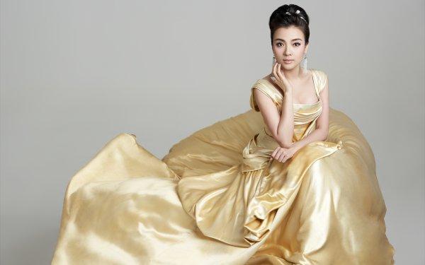 Music Chén Sīsī Singers China Chinese Dress Portrait Hair-Dress HD Wallpaper | Background Image