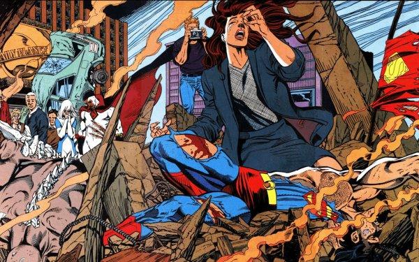 Comics The Death Of Superman Superman HD Wallpaper   Background Image