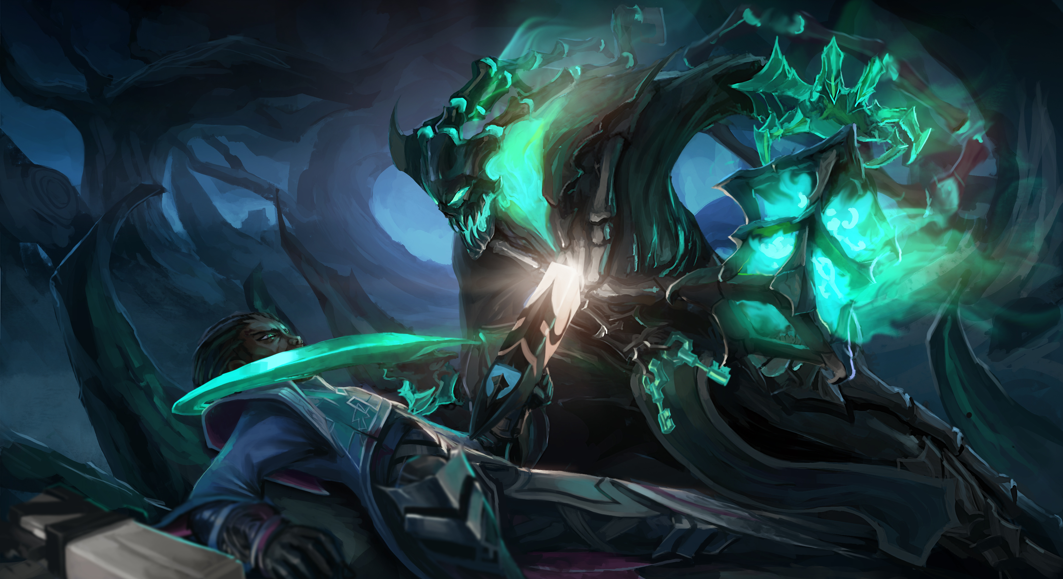 21 Lucian League Of Legends Hd Wallpapers Background Images