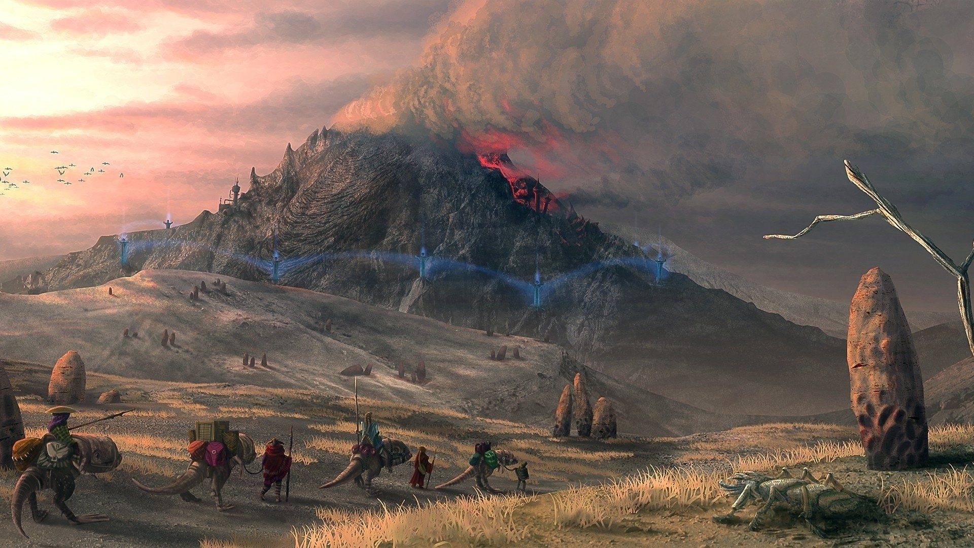 The Elder Scrolls Wallpaper: The Elder Scrolls III: Morrowind HD Wallpaper