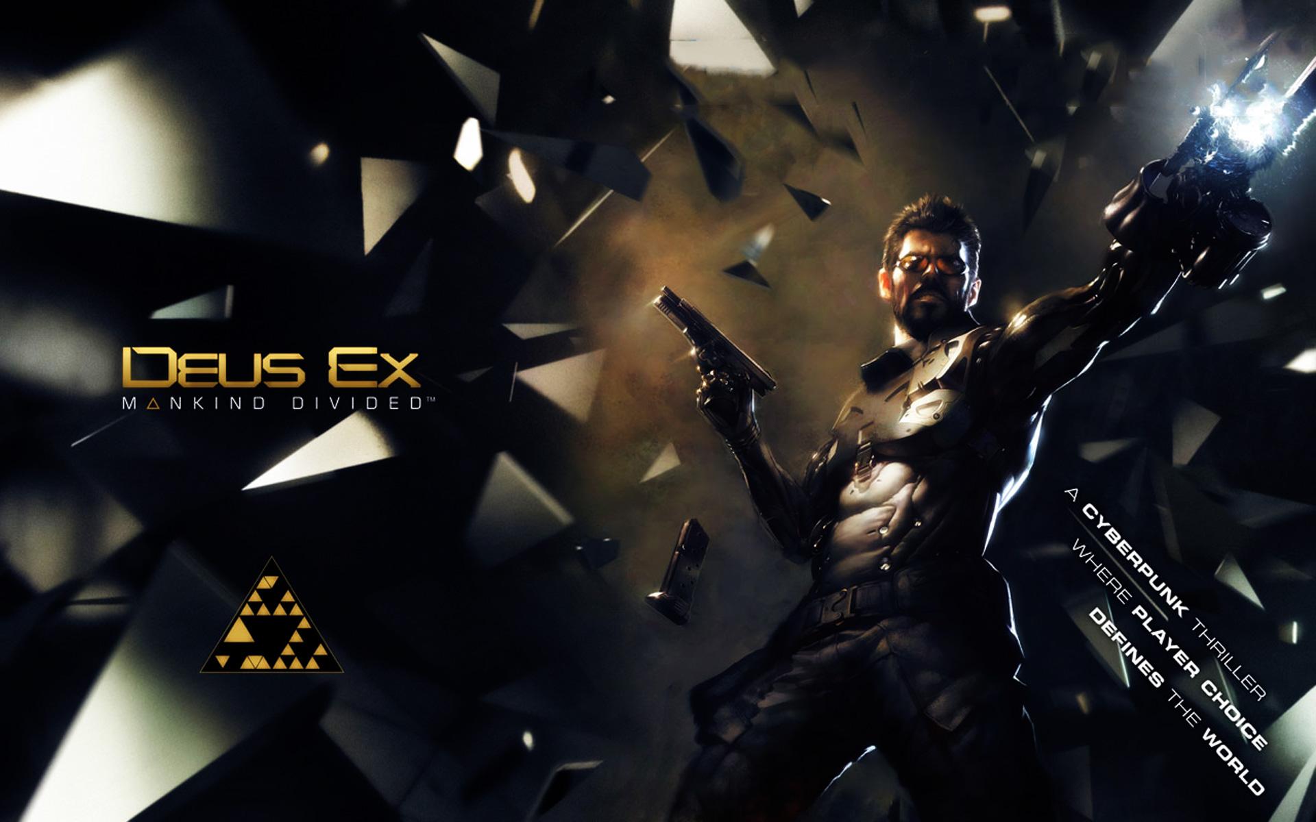 Deus Ex Mankind Divided Wallpaper: Deus Ex: Mankind Divided Full HD Wallpaper And Background