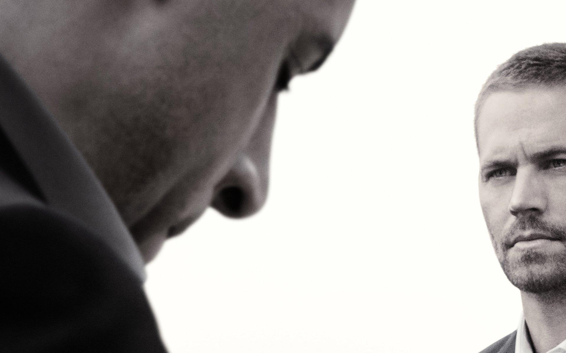 Movie - Furious 7  Dominic Toretto Vin Diesel Brian O'Conner Paul Walker Fast & Furious Wallpaper