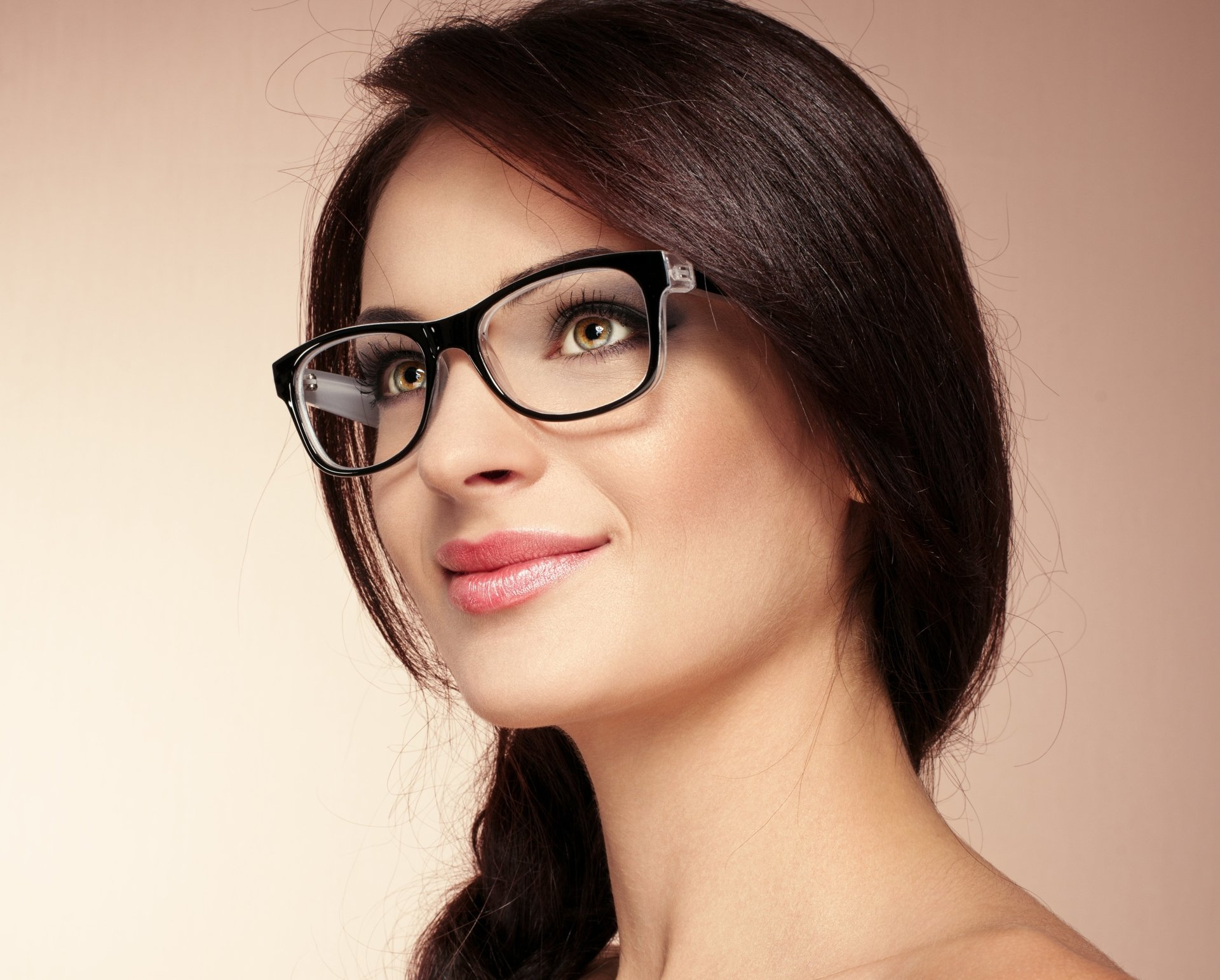 Women - Face  Model Smile Glasses Girl Woman Wallpaper