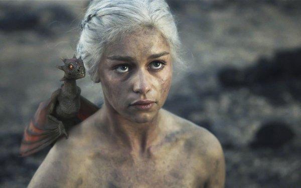 TV Show Game Of Thrones Dragon Daenerys Targaryen Emilia Clarke HD Wallpaper | Background Image