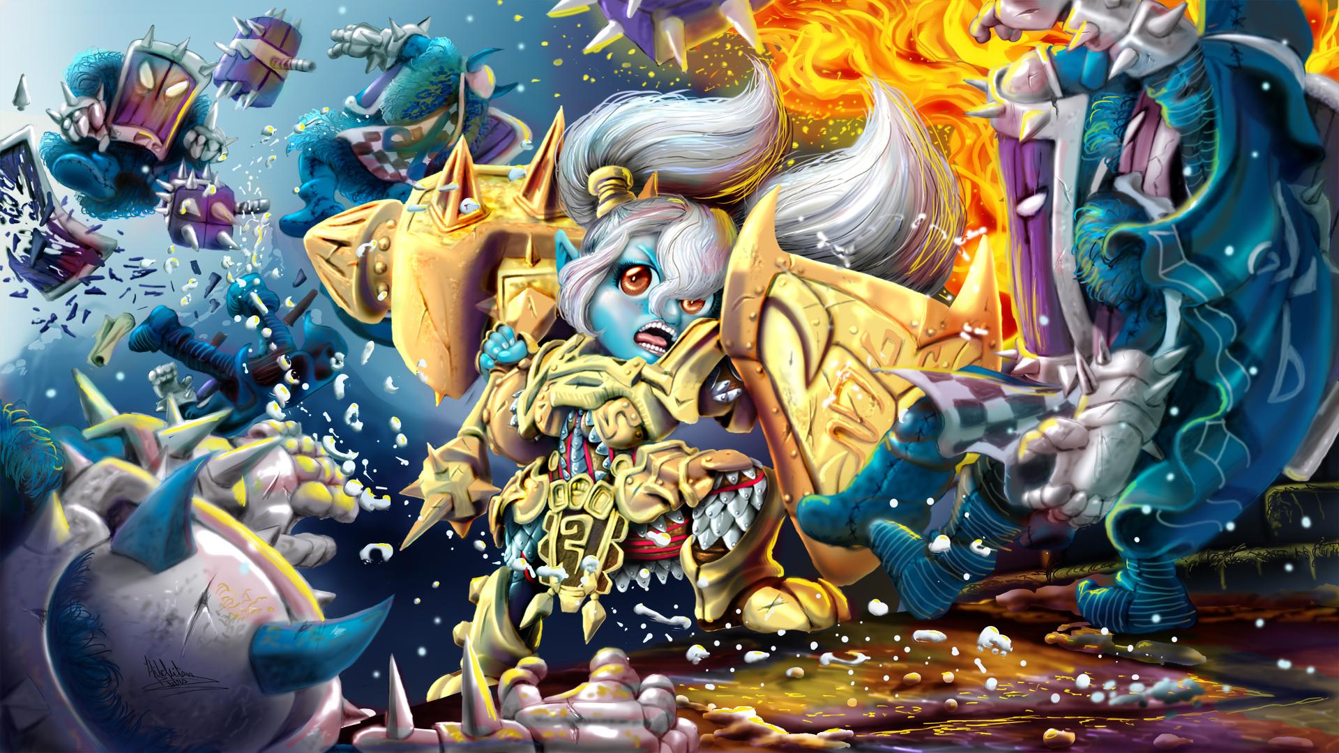 League Of Legends Poppy Wallpaper: League Of Legends HD Wallpaper