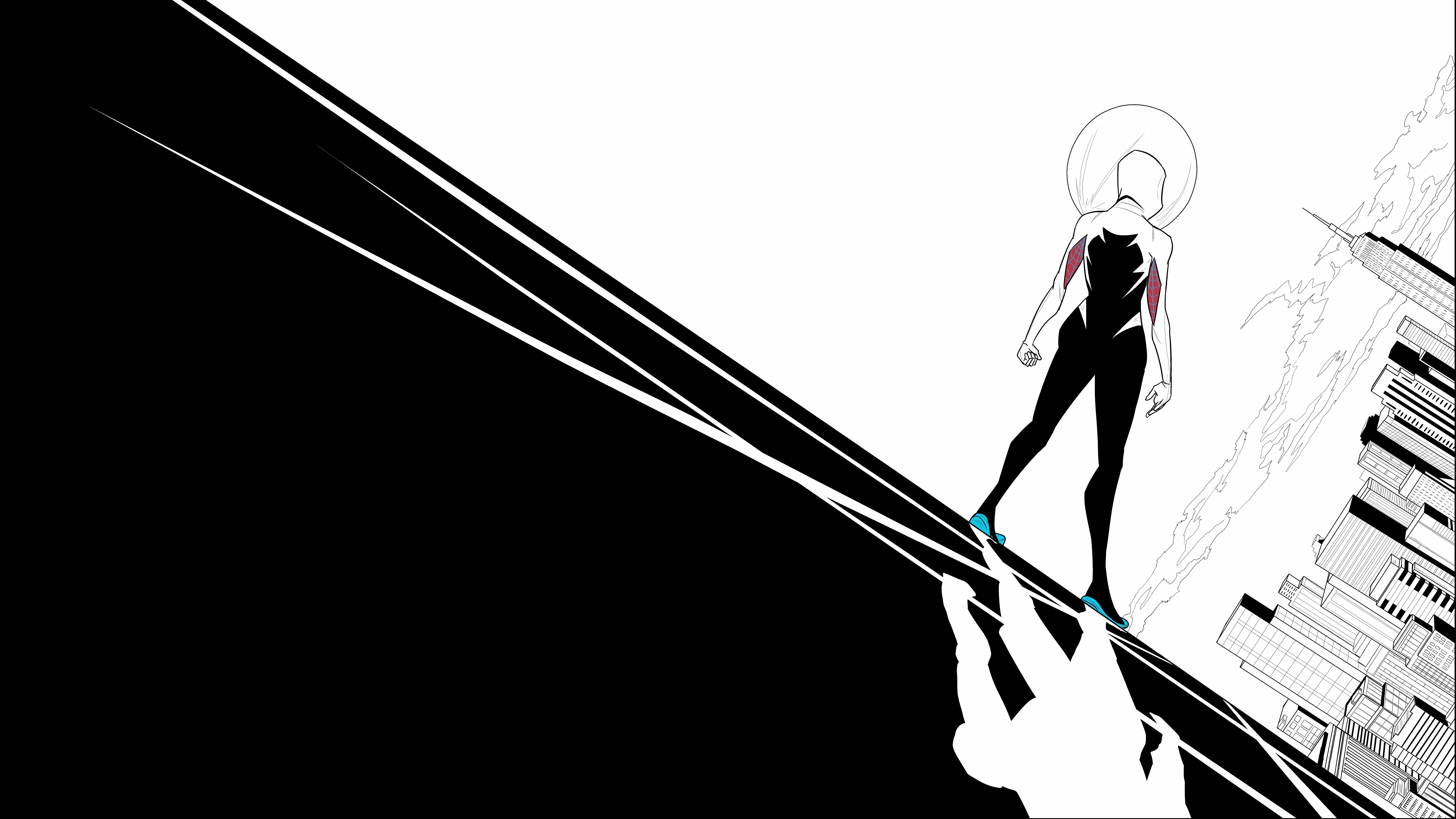 Spider-Gwen 8k Ultra HD Wallpaper | Background Image ...