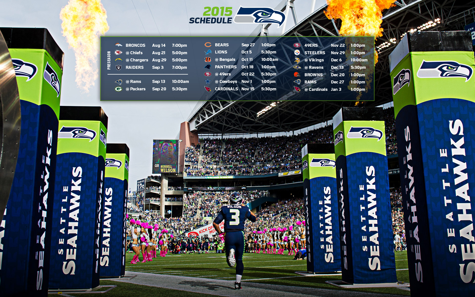 Seattle Seahawks Full HD Wallpaper and Background ...