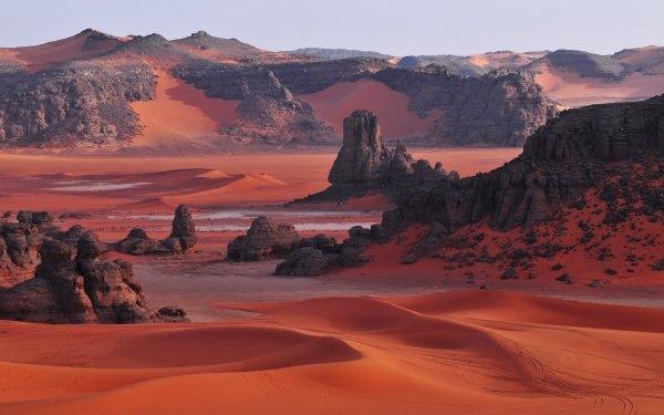 Photography Tassili N'Ajjer Algeria Sahara HD Wallpaper | Background Image