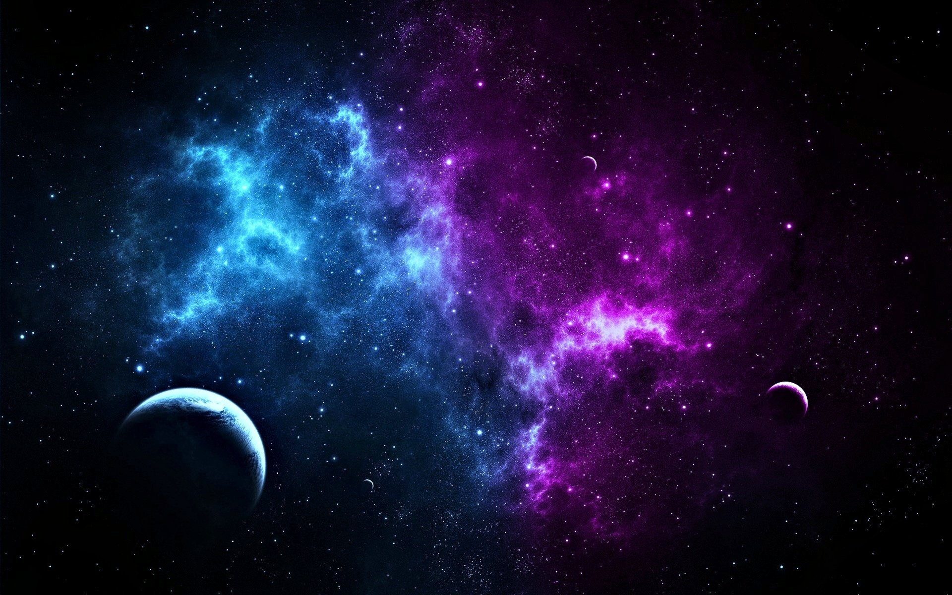 Sci Fi - Space  Stars Planet Wallpaper