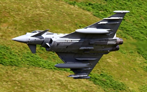 Military Eurofighter Typhoon Jet Fighters Aircraft Warplane HD Wallpaper | Background Image