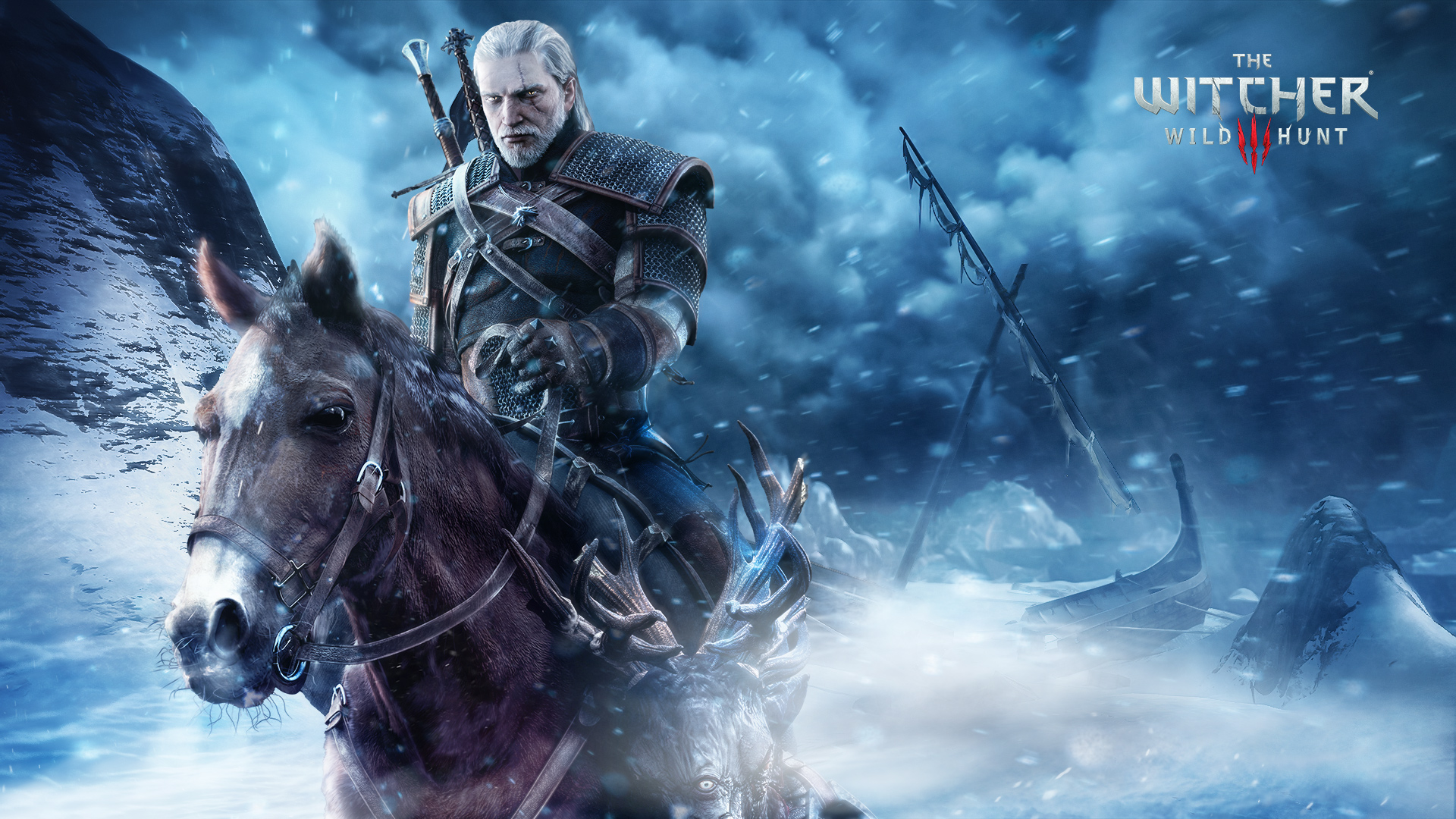 the witcher 3 wild hunt full hd wallpaper and background