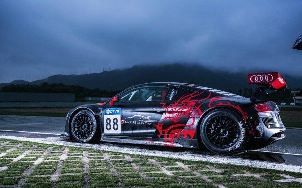 Vehicles Audi R8 LMS Audi Car Race Sport HD Wallpaper | Background Image
