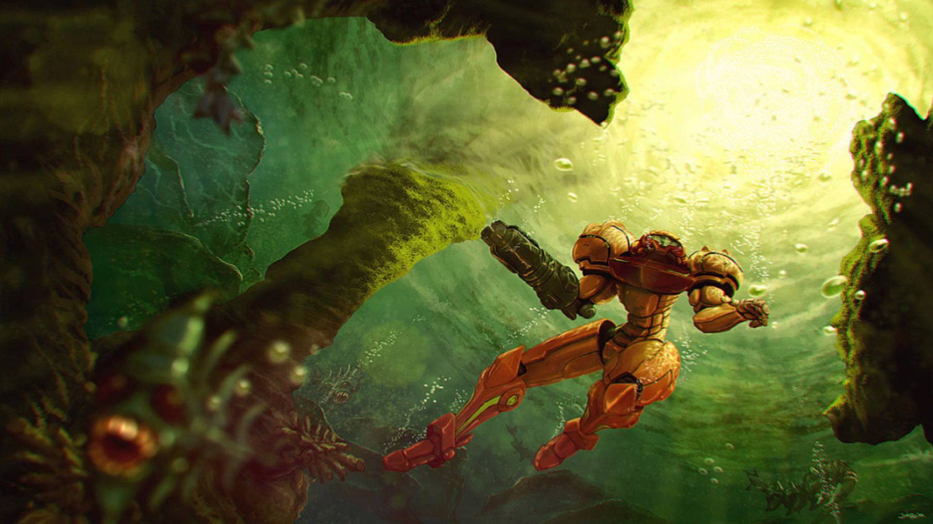 Super Metroid Full HD Wallpaper And Background Image