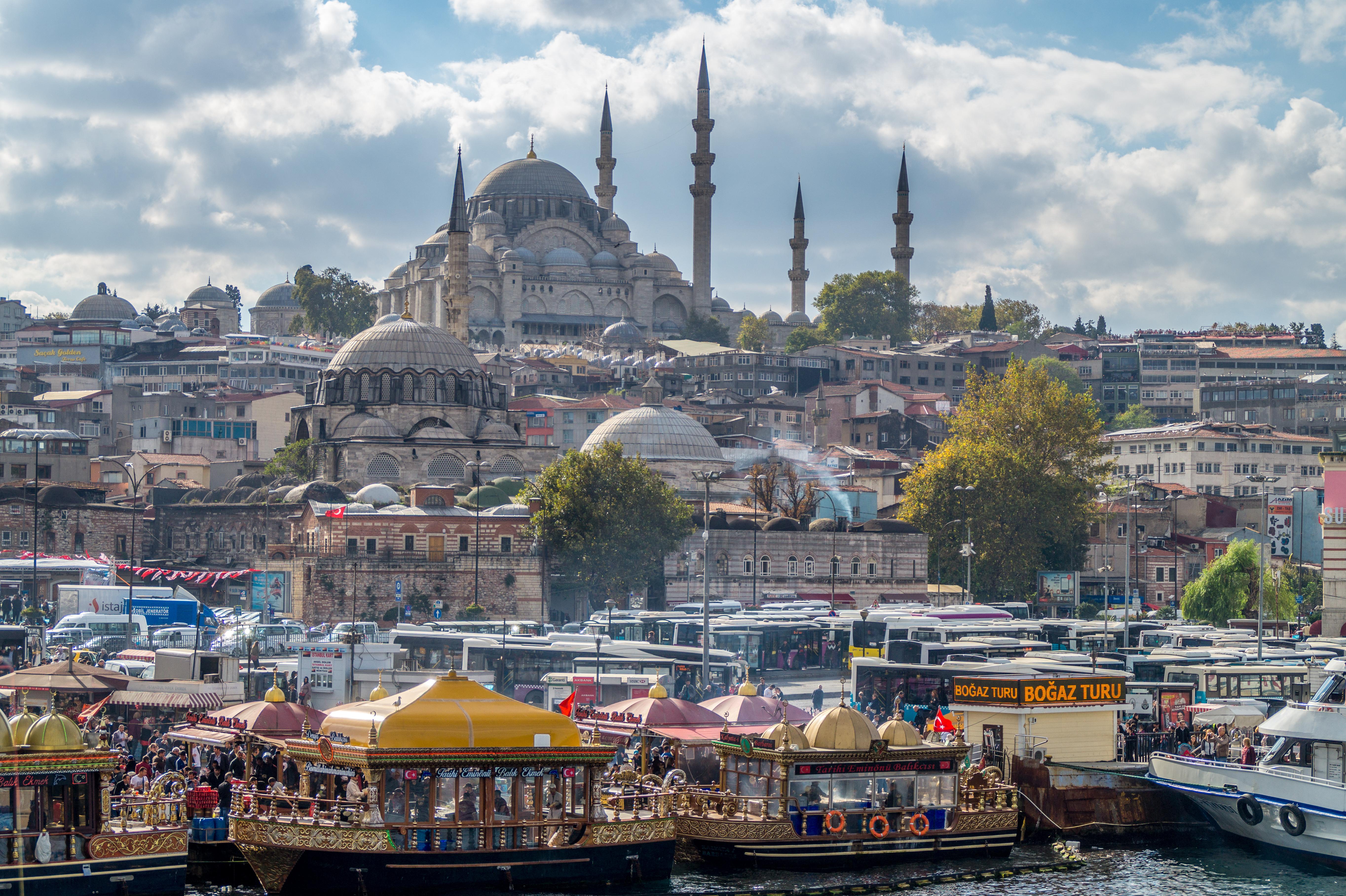 istanbul 5k retina ultra hd wallpaper background image