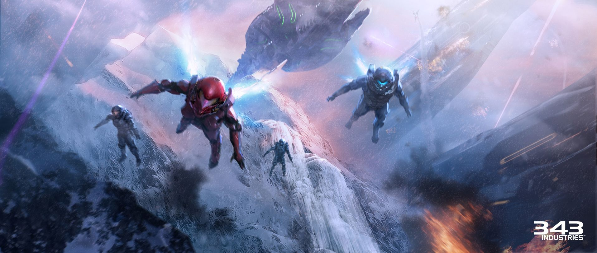 Halo 5 Guardians Wallpaper: Halo 5: Guardians Wallpaper And Background Image