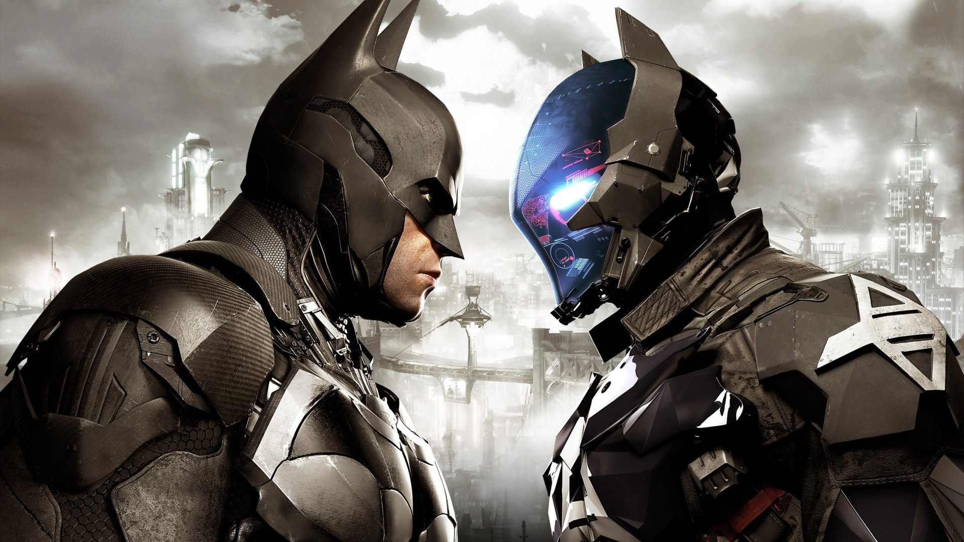 Video Game - Batman: Arkham Knight  Batman Video Game Superhero Wallpaper