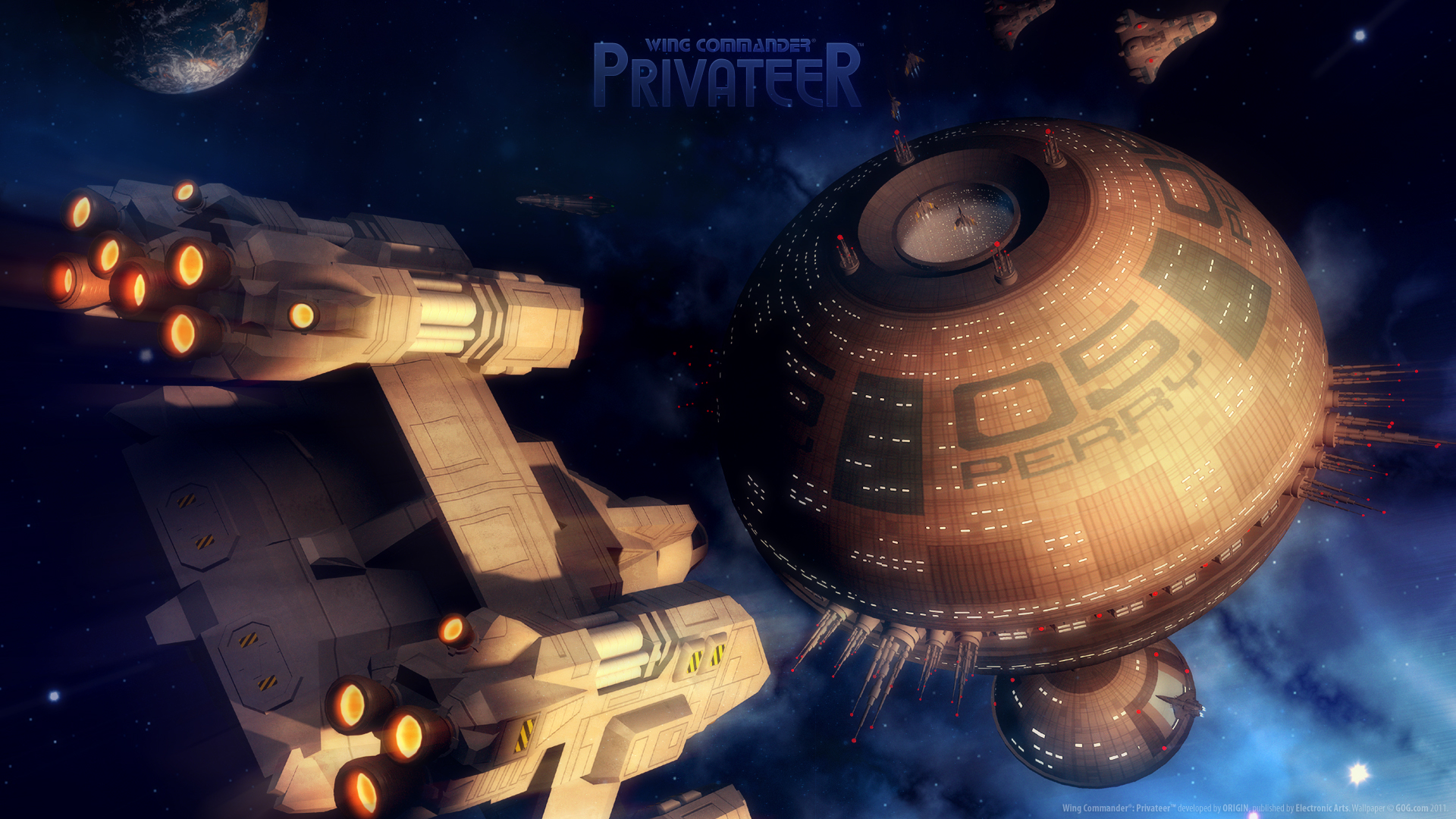 Wing Commander Privateer Hd Wallpaper Background Image