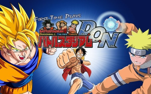 Video Game Battle Stadium D.O.N Goku Monkey D. Dragon Naruto Uzumaki HD Wallpaper   Background Image