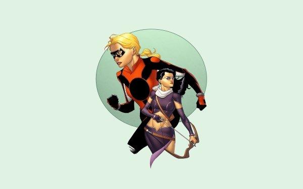 Comics Stature Cassandra Lang Kate Bishop HD Wallpaper   Background Image