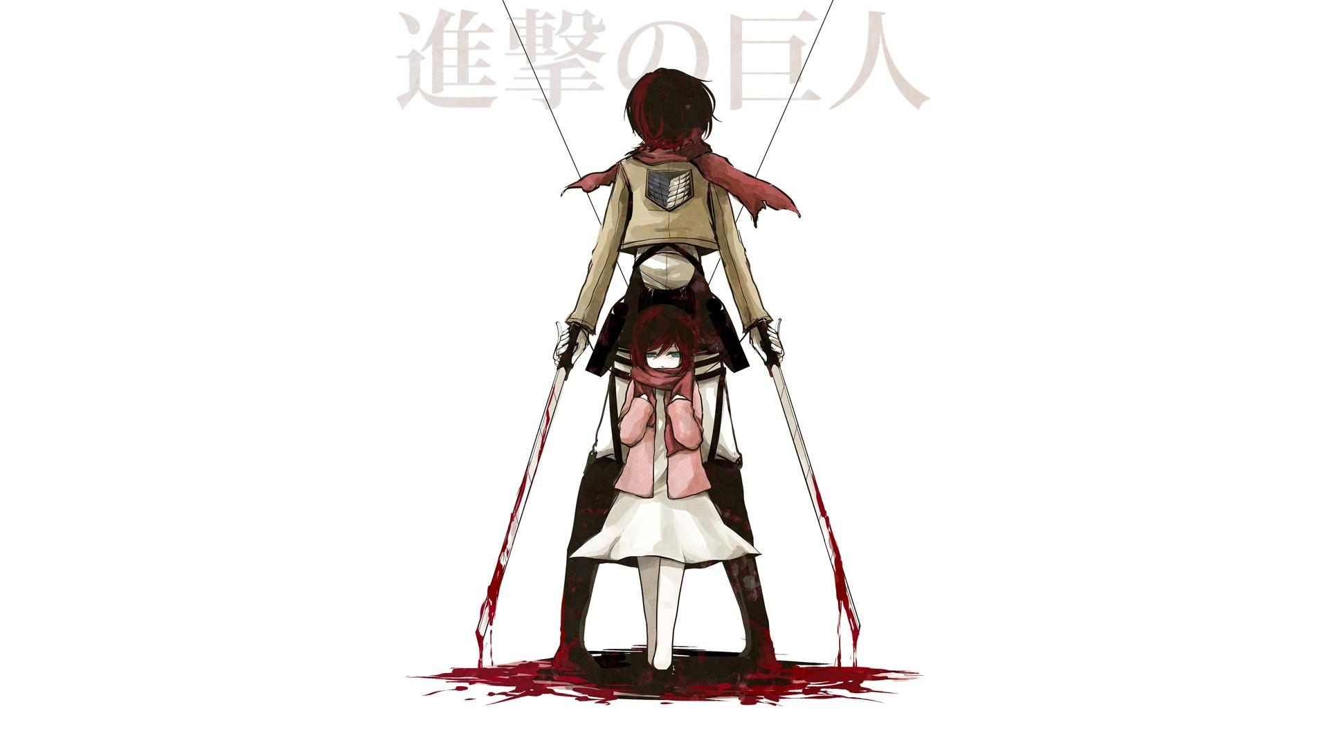 Shingeki No Kyojin Mikasa Ackerman Hd Wallpaper Background Image 1920x1080 Id 607897 Wallpaper Abyss