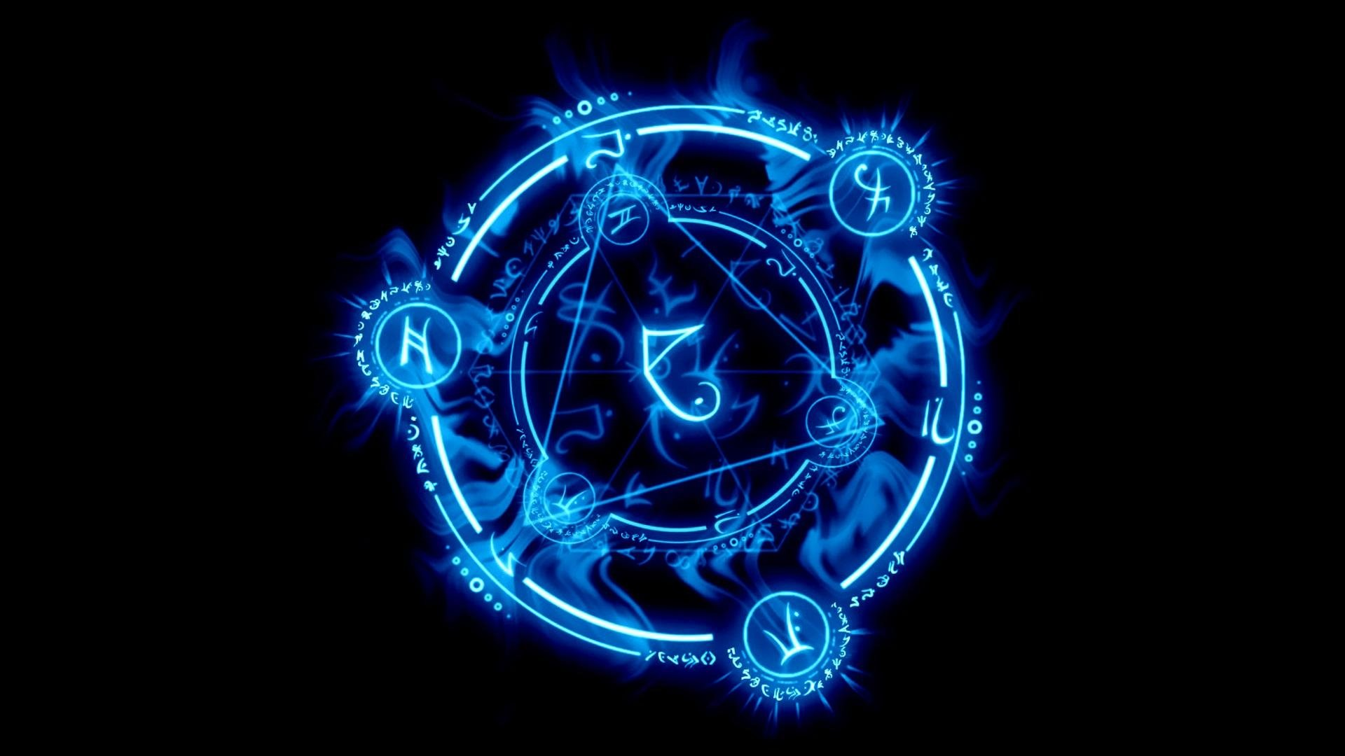 Arcane Circle Hd Wallpaper Background Image 1920x1080