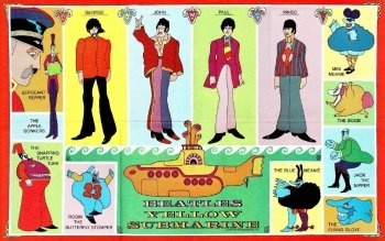 3 Yellow Submarine HD Wallpapers | Backgrounds - Wallpaper Abyss
