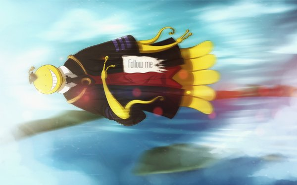 Anime Assassination Classroom Koro-sensei HD Wallpaper | Background Image