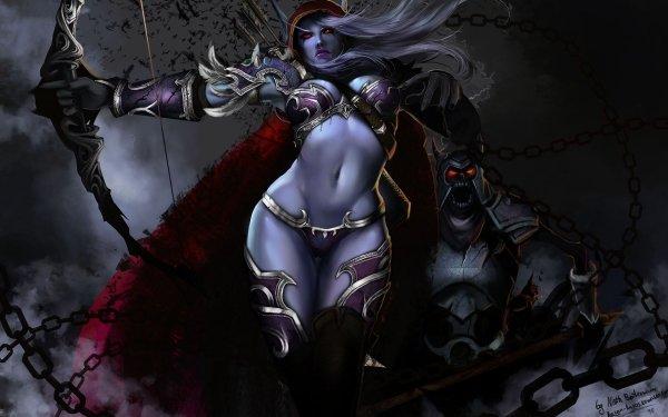 Video Game World Of Warcraft Warcraft Sylvanas Windrunner HD Wallpaper | Background Image