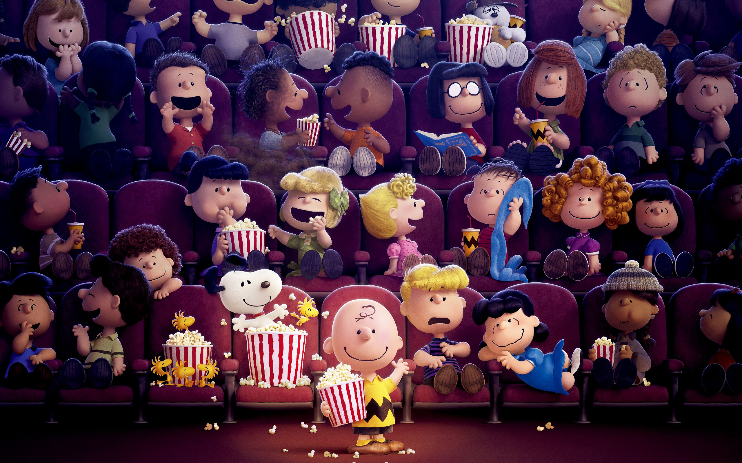 the peanuts movie full hd wallpaper and background image | 2560x1600