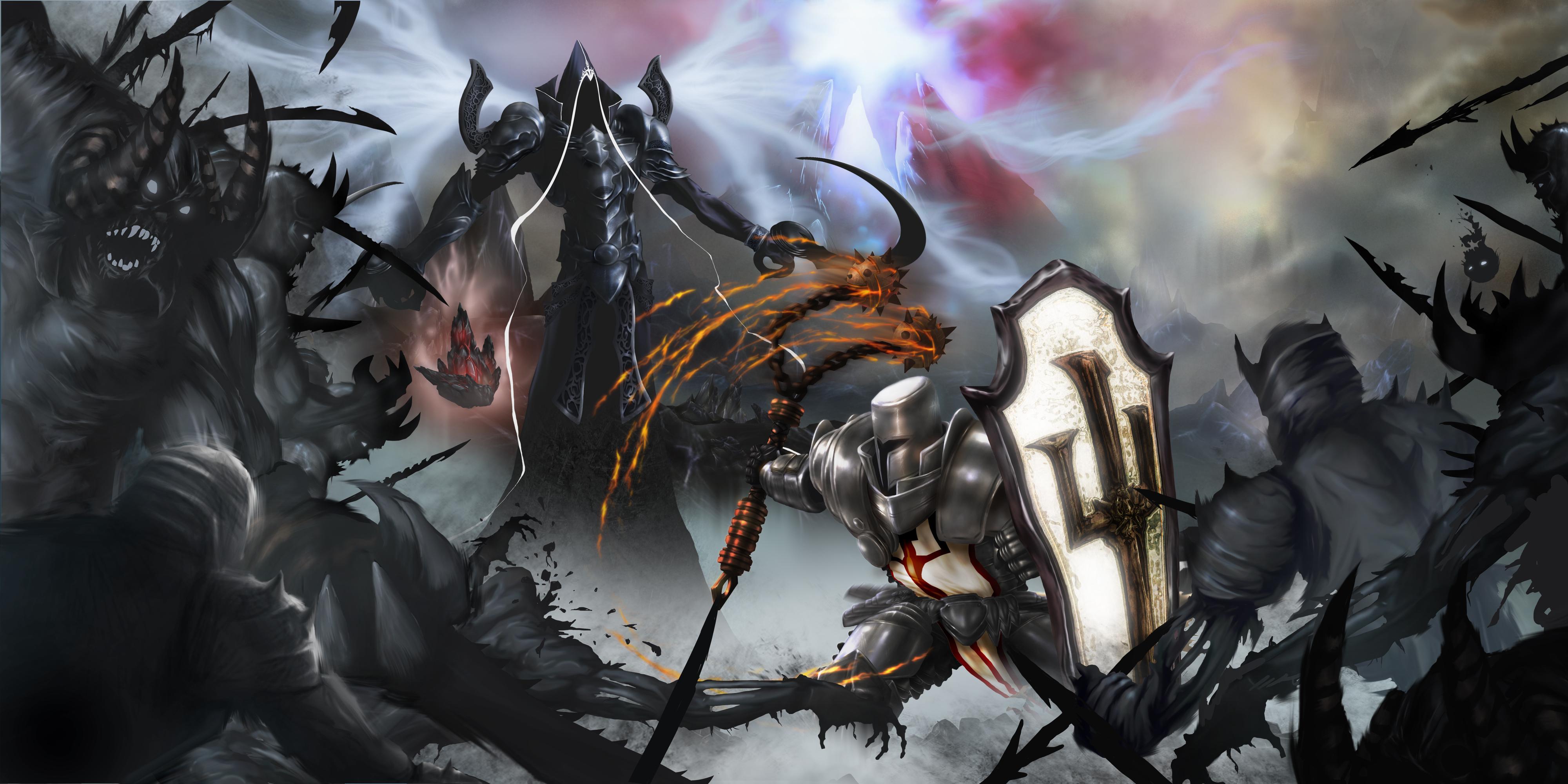 diablo iii reaper of souls hd wallpaper background