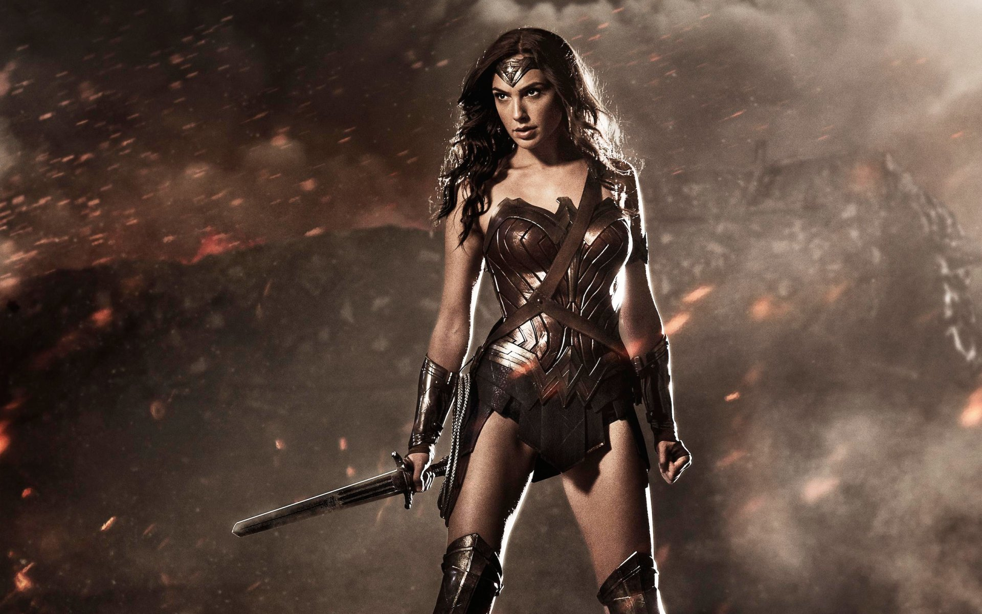 Movie - Batman v Superman: Dawn of Justice  Gal Gadot Wonder Woman Wallpaper