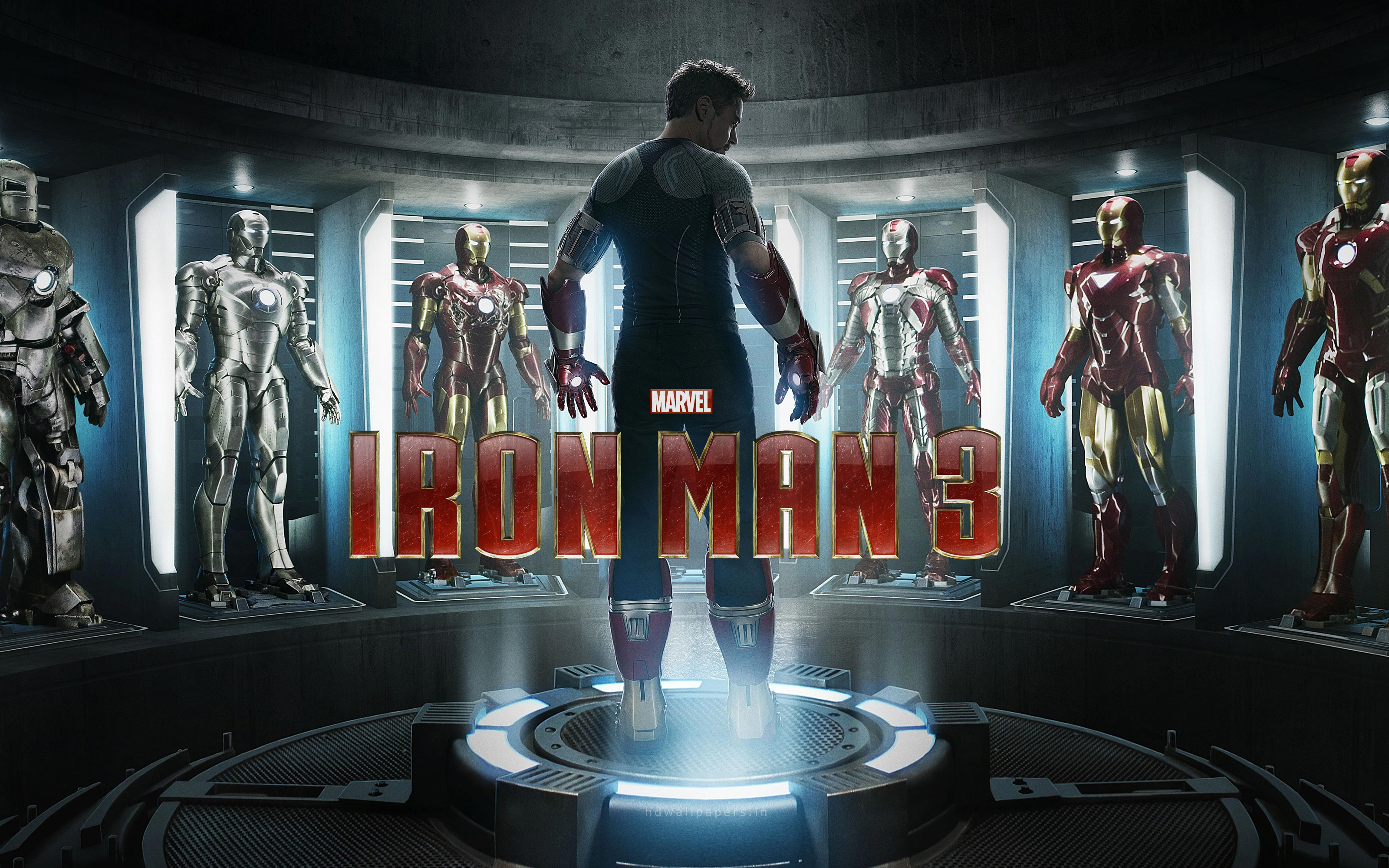 Iron Man 3 Patriot HD Wallpaper