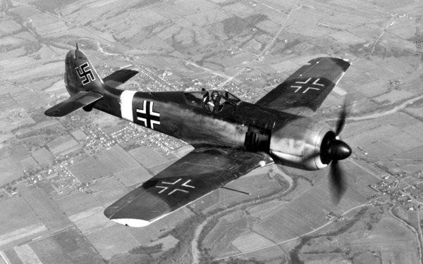 Military Focke-Wulf Fw 190 Military Aircraft Wehrmacht HD Wallpaper   Background Image