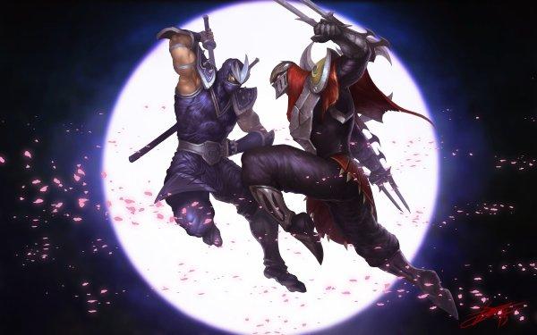 Video Game League Of Legends Zed Shen HD Wallpaper | Background Image