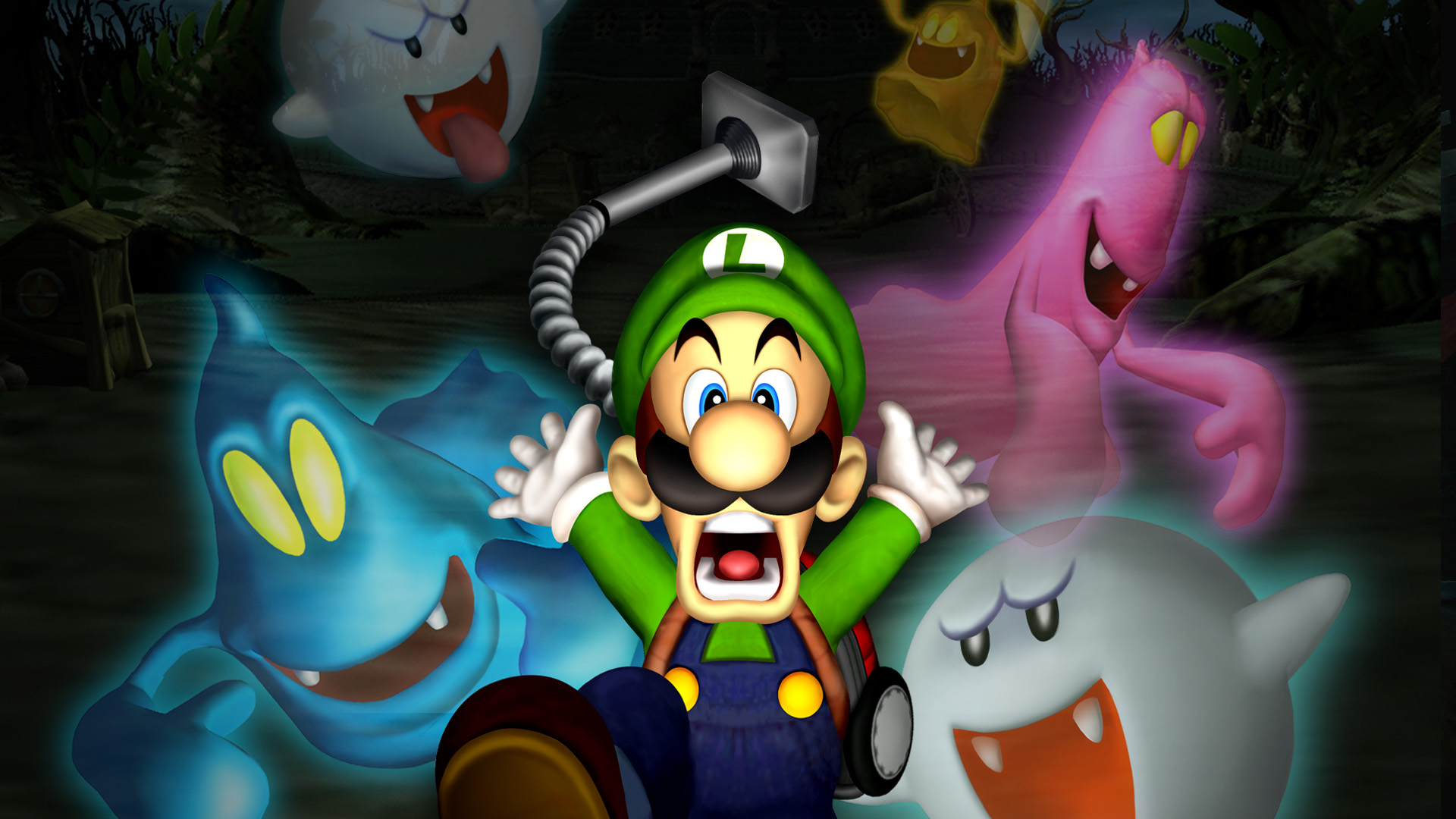 Luigi S Mansion Hd Wallpaper Background Image 1920x1080 Id