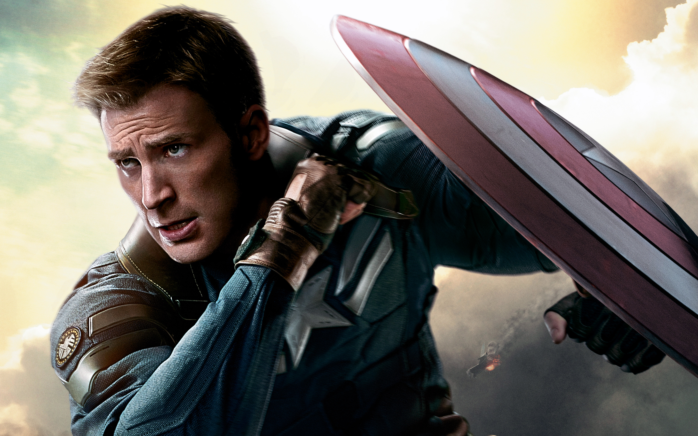 Captain America The Winter Soldier Hd Wallpaper Background Image 2880x1800 Id 618342 Wallpaper Abyss