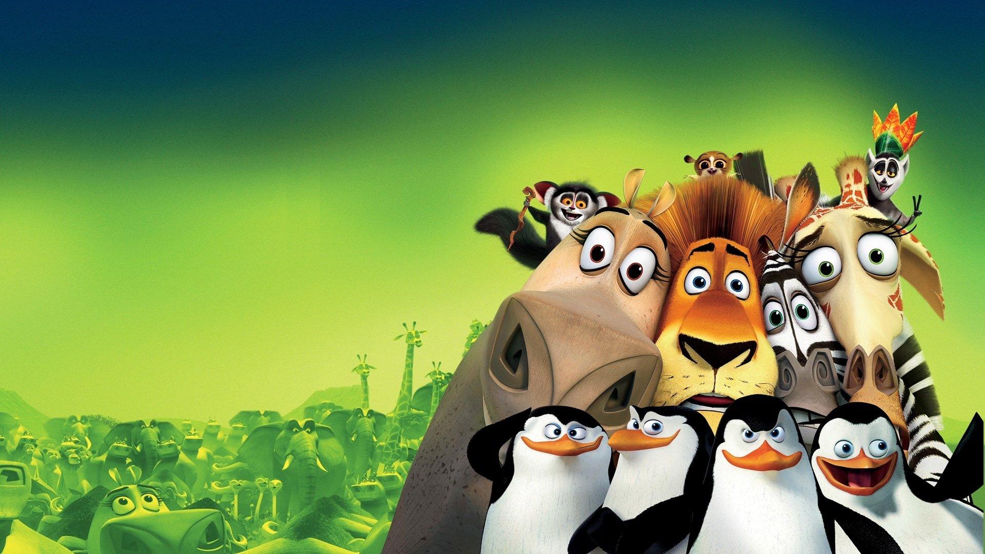 Imagens Full Hd 1080p 3d: Madagascar Full HD Fondo De Pantalla And Fondo De