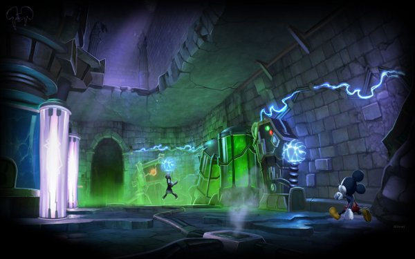 Video Game Epic Mickey 2: The Power of Two Disney HD Wallpaper | Background Image