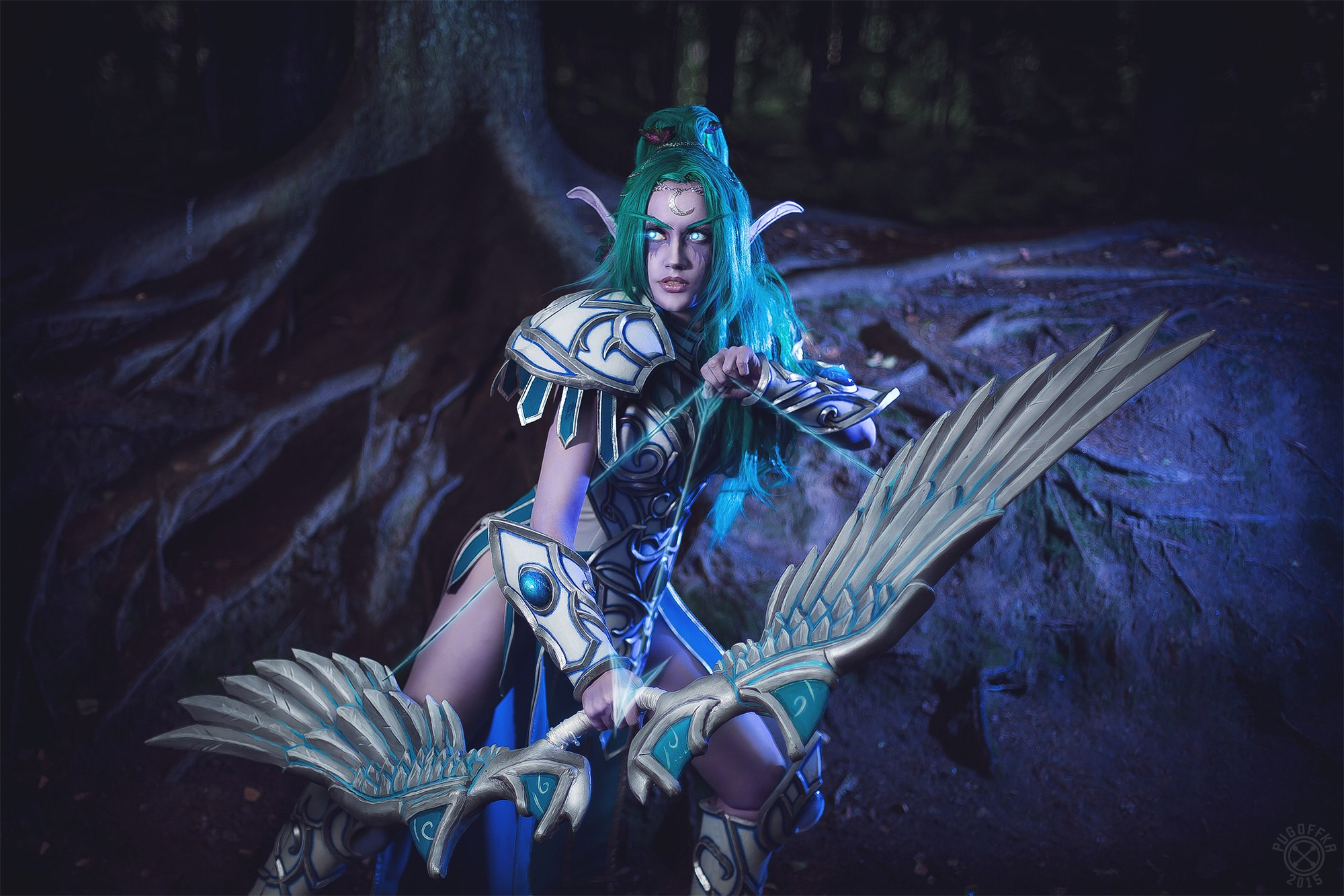 Tyrande Whisperwind Full HD Wallpaper And Background Image